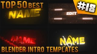 getlinkyoutube.com-TOP 50 BEST Blender intro templates #18 (Free download)