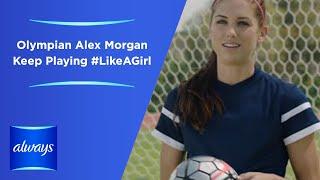 getlinkyoutube.com-Always #LikeAGirl   Olympian Alex Morgan - Keep Playing #LikeAGirl