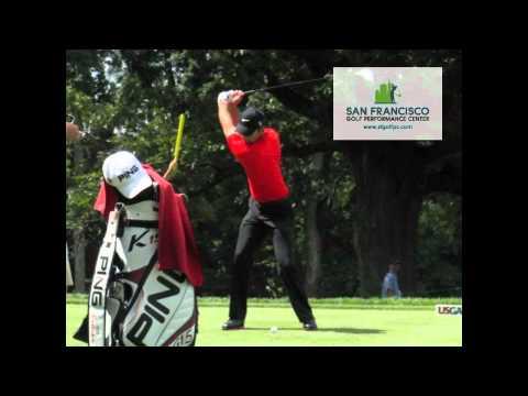 Charl Schwartzel Driver FO Slow Motion Golf Swing