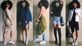 getlinkyoutube.com-SLAYING A SCHOOL FULL OF MICHELLES 101: Back To School Outfit Ideas