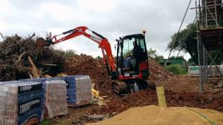 getlinkyoutube.com-New Kubota U27-4 Mini Digger Excavator Bagger Pelle Graver