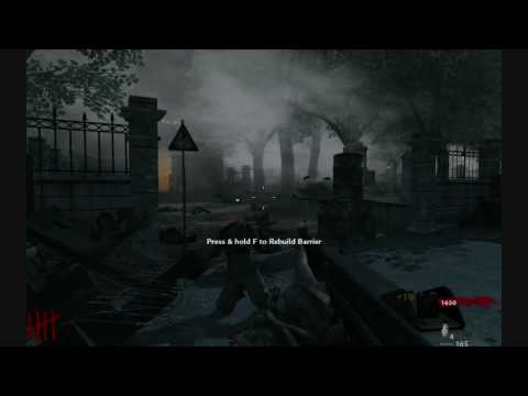 Call of Duty WaW Nazi Zombie Map - FRU Church
