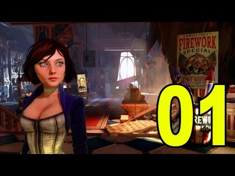 Bioshock Infinite - Part 1 - The Beginning (Let's Play / Playthrough / Walkthrough)