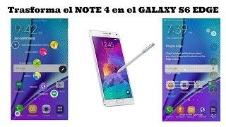 getlinkyoutube.com-Como transformar el Note 4 en el Galaxy s6 EDGE Sac_23 Rom Poted S6 EDGE SPRINT