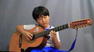 Pagode em Brasília - Viola caipira - Hiroshi - 8 anos