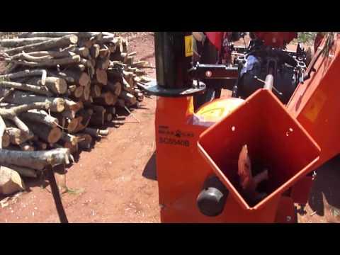 Picador e Triturador de Galhos BearCat/ECHO SC-5540B