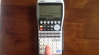 getlinkyoutube.com-Casio Graphical Calculators: Basics (fx-9860GII)