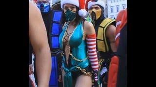 getlinkyoutube.com-MORTAL KOMBAT VS CHRISTMAS