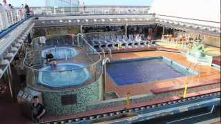 Carnival Valor Cruise Ship Video Tour