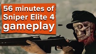 getlinkyoutube.com-56 minutes of Sniper Elite 4 gameplay plus developer commentary