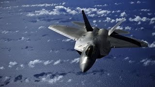 getlinkyoutube.com-U.S.  F-22 Raptor . take-off ,vertical climb, inverted stall, controlled hover