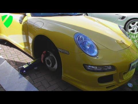 Porsche ABS Sensor Diagnose, Replace & Reset FULL HOW TO GUIDE