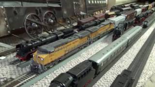 getlinkyoutube.com-My Union Pacific AC6000CWs out of storage and running again!