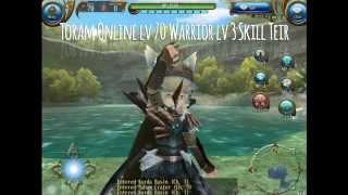 getlinkyoutube.com-Toram Online lv 70 Warrior lv 3 Skill Teir