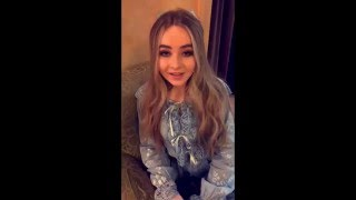getlinkyoutube.com-Snapchat: Sabrina Carpenter, Corey Fogelmanis, & August Maturo