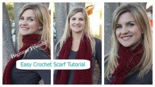 getlinkyoutube.com-How to Crochet a Simple Stylish Scarf for Fall