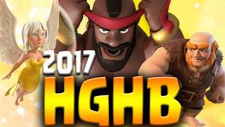 getlinkyoutube.com-NO GOLEM! HGHB TH9 Attack Strategy 2017 | 3 Star Clan War Attacks | Clash of Clans