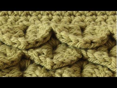 Crocodile Stitch Free Crochet Pattern - Right Handed