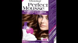 pintando cabelos com perfect mousse schwarzkopf - Coloration Mousse