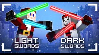 """getlinkyoutube.com-Pixel Gun World - """"Dark swords"""" Overpowered????"""