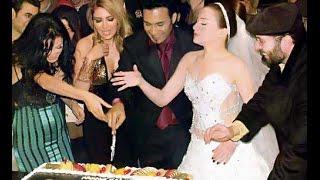 getlinkyoutube.com-فستان زفاف مي عز الدين ماشاء الله اموره جدا شوف بقيت الصور