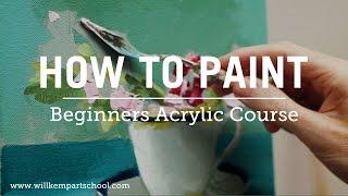 getlinkyoutube.com-Beginners Acrylic Painting Course (New)