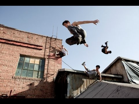 GoPro HD: Parkour Chase Tag