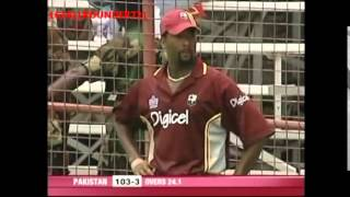 getlinkyoutube.com-Inzamam Ul Haq and Mohammad Yousuf batting vs West Indies 2005