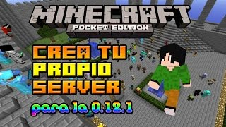Minecraft PE 0.16.0 | Crea tu propio Server ''Permanente""