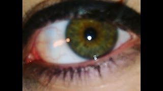 My Eye Color Changing Journey from Brown To Hazel Green - From A Mexican American Girl
