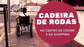 CENTRO E SHOPPING DE CAMPO GRANDE -MS - É ACESSÍVEL?!