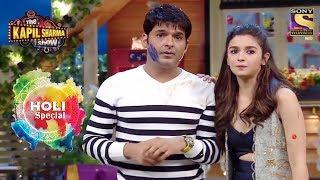 Holi Special | Celebrate Holi With Alia & Varun | The Kapil Sharma Show