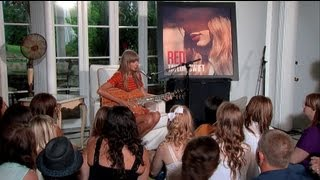 getlinkyoutube.com-Taylor Swift - Acoustic Performances from RED Album