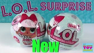 getlinkyoutube.com-L.O.L. Surprise Ball Baby Doll 7 Layers Of Fun Color Change Cries Wets | PSToyReviews