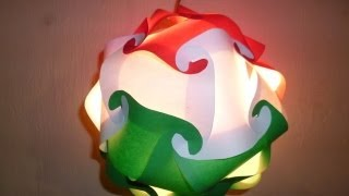 getlinkyoutube.com-LAMPARA TRICOLOR PARA FIESTAS PATRIAS - NATIONAL HOLIDAYS TRICOLOUR LAMP