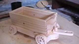 getlinkyoutube.com-How to Make a Wooden Toy Train