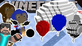 THIS IS INSANE! | Bloons Tower Defense | Minecraft Custom Map