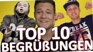 getlinkyoutube.com-TOP 10 YOUTUBER Begrüßungen 2015 (Deutschland)
