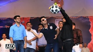 Bollywood Krishna | Ranbir Kapoor breaks coolest FOOTBALL HANDI