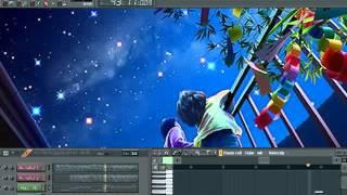 คืนที่ดาวเต็มฟ้า The Starry Night - Flute and Acoustic Guitars view on youtube.com tube online.