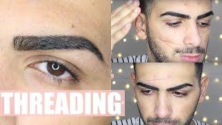getlinkyoutube.com-How To Thread Your Eyebrows, Upper Lips, Facial Hair | Salih's World