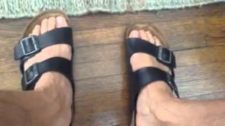 getlinkyoutube.com-Men's feet and Birkenstocks