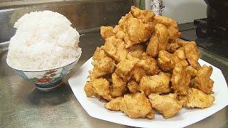 getlinkyoutube.com-【デカ盛り】もりもり大盛りから揚げ1.5kg!! Japanese Karaage! 作り方 レシピ