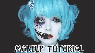 getlinkyoutube.com-★Creepy☆Cute Makeup Tutorial★