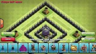 getlinkyoutube.com-Best TH8 Dark Elixir Farming Base - Speedbuild and Defence Replay