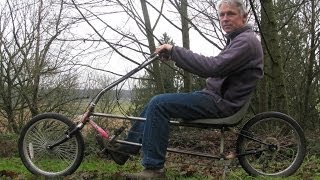 getlinkyoutube.com-DIY recumbent bicycle
