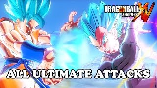 getlinkyoutube.com-Dragon Ball Xenoverse: All Ultimate Attacks [Include All DLC]【60FPS 1080P】