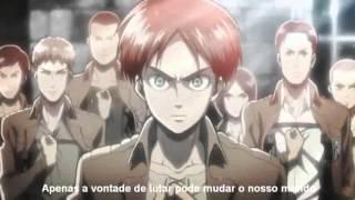 Shingeki no Kyojin  Abertura 01   Legendado PT BR