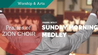 getlinkyoutube.com-The First Cathedral Reunion Choir -- Sunday Morning Medley