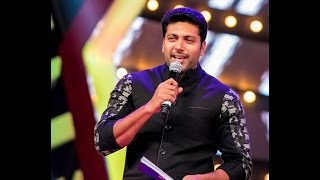 getlinkyoutube.com-Micromax Siima 2015 | Most Romantic Star South | Jayam Ravi